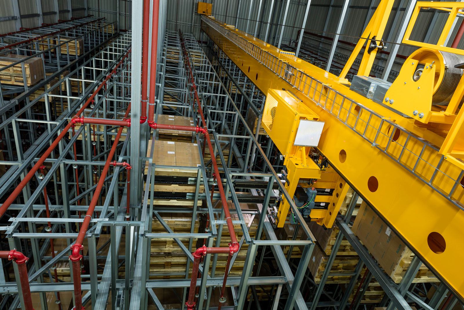 Jungheinrich Is Implementing A Three Aisle High Bay Warehouse For Pallet Storage With Total Of 9 888 Slots Hewi G Winker In Spaichingen